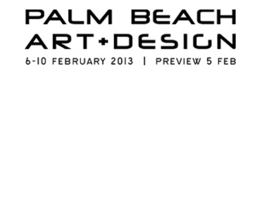 West Palm Beach Convention Center Events: The Palm Beach Art + Design Fair 2013
