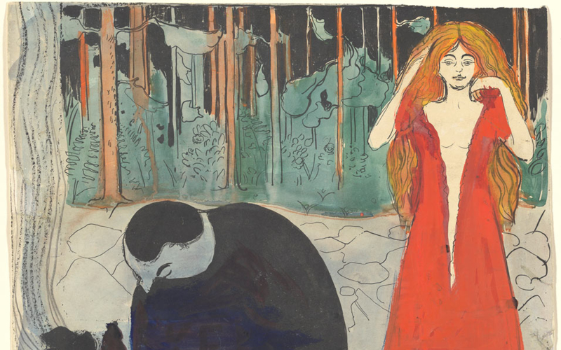 Edvard Munchs Master Prints On View In Compelling Exhibition At The