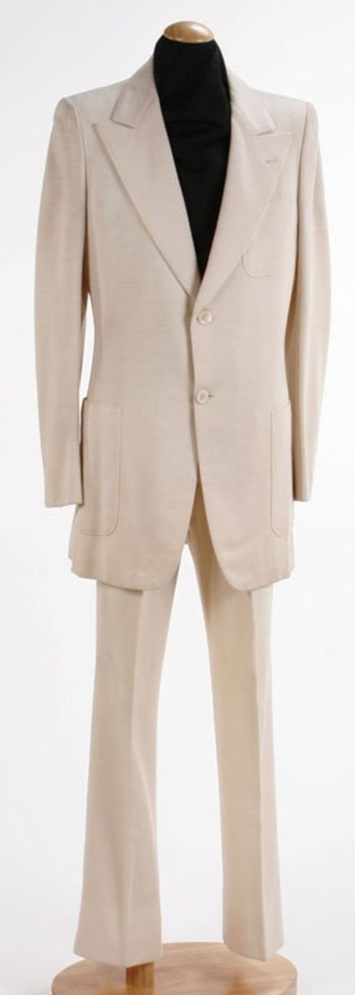 John Lennon S White Abbey Road Two Piece Suit Sells For 46 000 At Braswell Galleries Artlistings