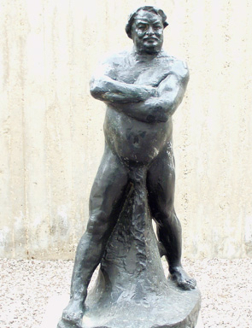 Rodin Sculpture Of French Fovelist Honore De Balzac Stolen