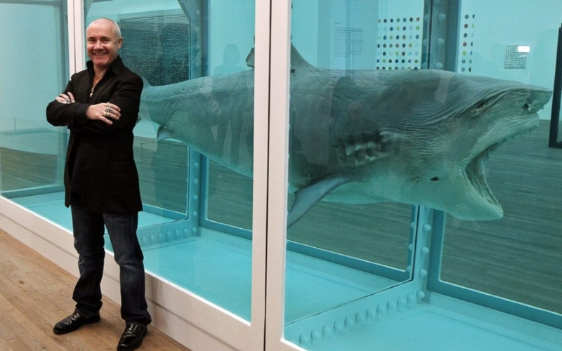 Skulls Sharks And Polka Dots In New Damien Hirst Show At Tate Modern In London Artlistings