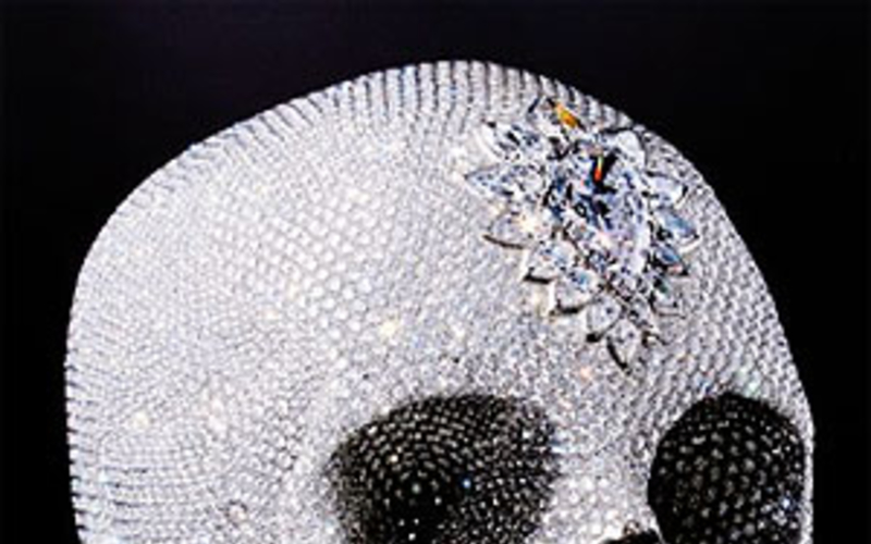 The Diamond Encrusted Skull by Damien Hirst on Display at Palazzo Vecchio 176f3e53fbe